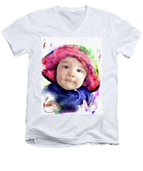 Landon Men's V-Neck T-Shirt