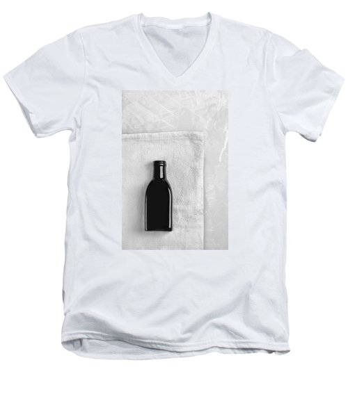 Little Black Bottle  Men's V-Neck T-Shirt