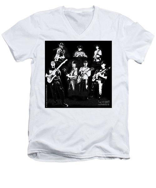 Mike Of Bralorne  Men's V-Neck T-Shirt