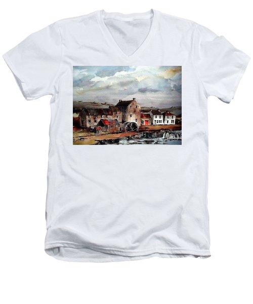 Mill At Bruree, Limerick Men's V-Neck T-Shirt