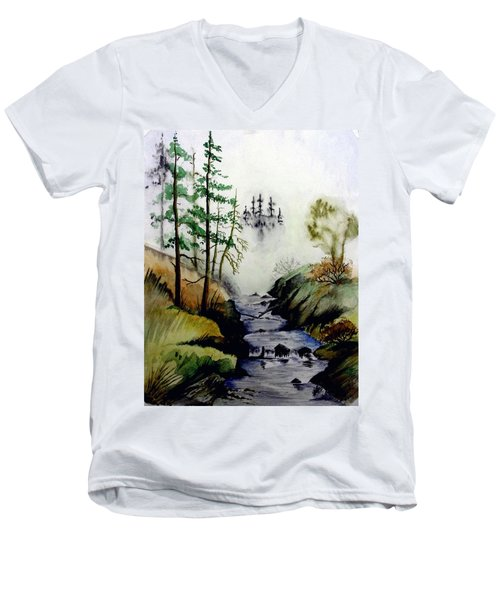 Misty Creek Men's V-Neck T-Shirt