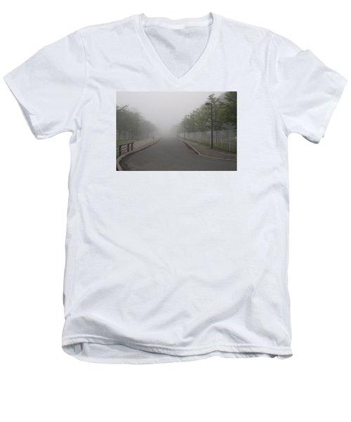 Morning Walk Men's V-Neck T-Shirt