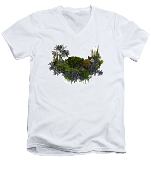 Moss Island Men's V-Neck T-Shirt