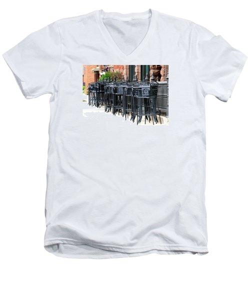 Nina's Men's V-Neck T-Shirt