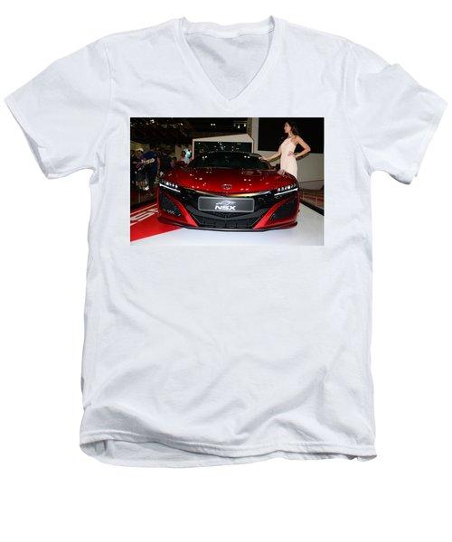 Honda Nsx Men's V-Neck T-Shirt