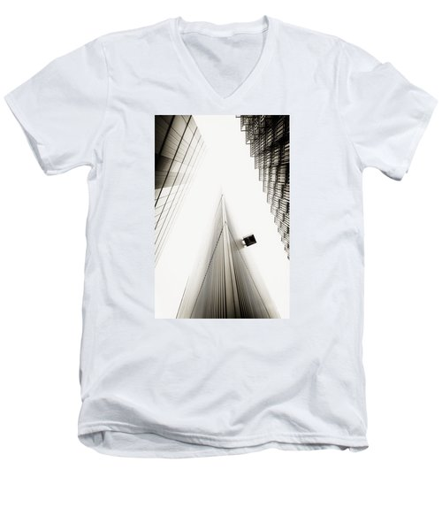 Men's V-Neck T-Shirt featuring the photograph Not The Shard by Lenny Carter
