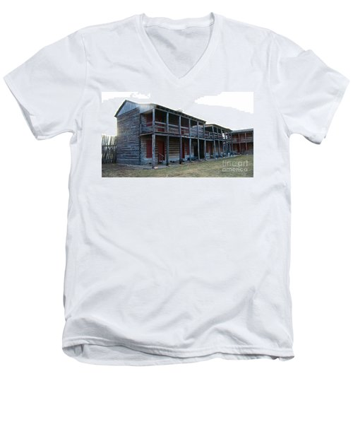 Old Fort Madison Men's V-Neck T-Shirt