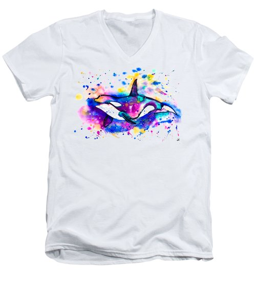Orca Men's V-Neck T-Shirt