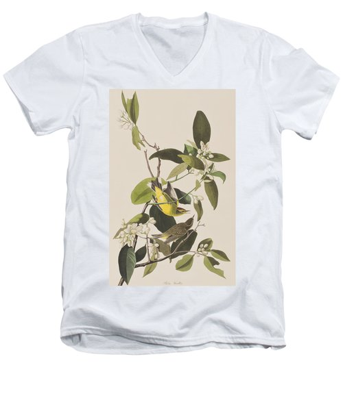 Palm Warbler Men's V-Neck T-Shirt