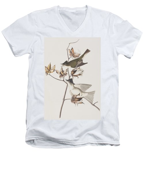 Pewit Flycatcher Men's V-Neck T-Shirt