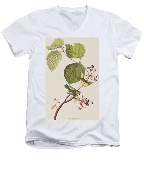 Pine Swamp Warbler Men's V-Neck T-Shirt