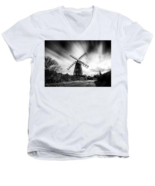 Polegate Windmill Men's V-Neck T-Shirt