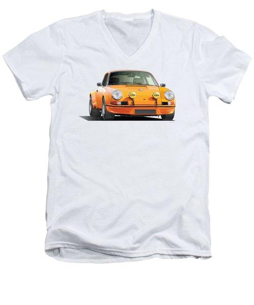 Porsche 911 Rs Men's V-Neck T-Shirt