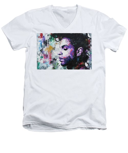 Prince Men's V-Neck T-Shirt