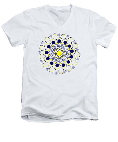 Rangoli Men's V-Neck T-Shirt