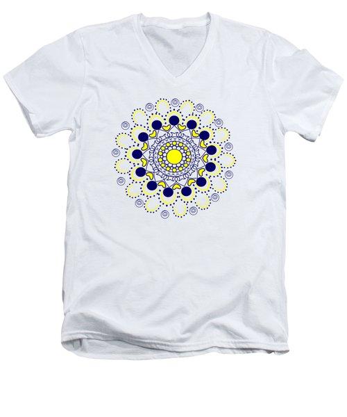 Rangoli Men's V-Neck T-Shirt