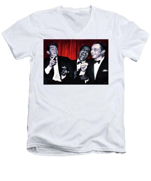 Rat Pack Men's V-Neck T-Shirt