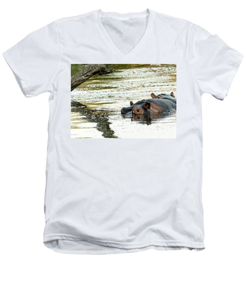 Reflections Men's V-Neck T-Shirt by Patrick Kain