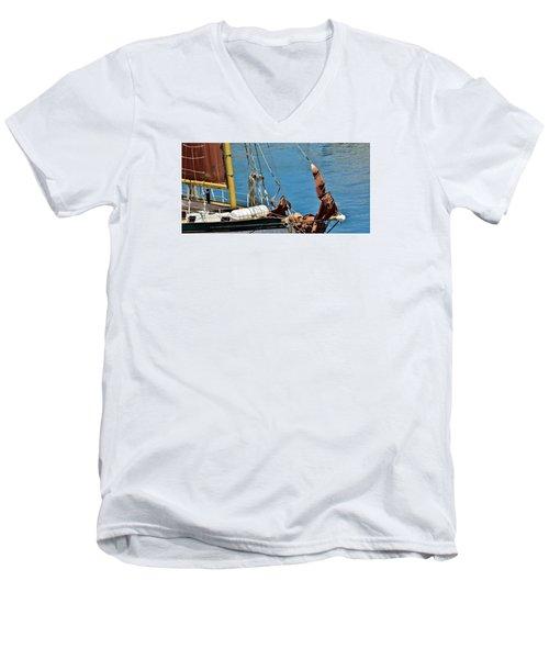 Sail Boat Men's V-Neck T-Shirt