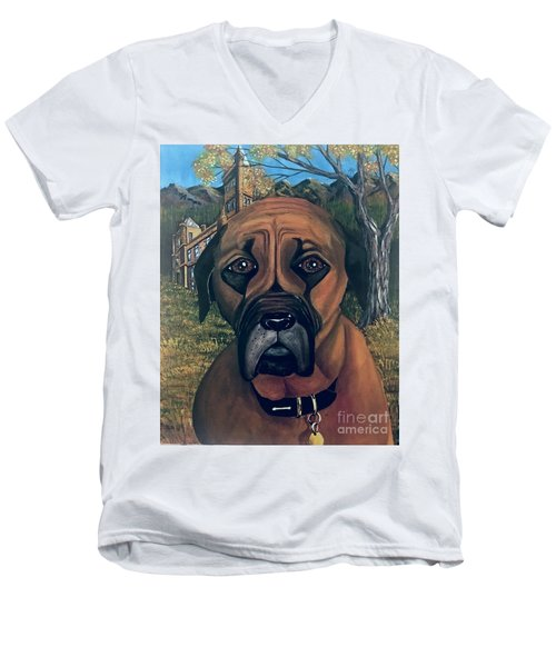 Scyleia Men's V-Neck T-Shirt