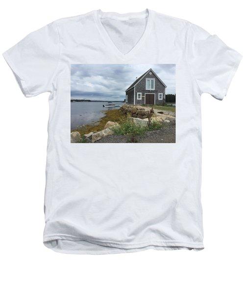 Shore Men's V-Neck T-Shirt