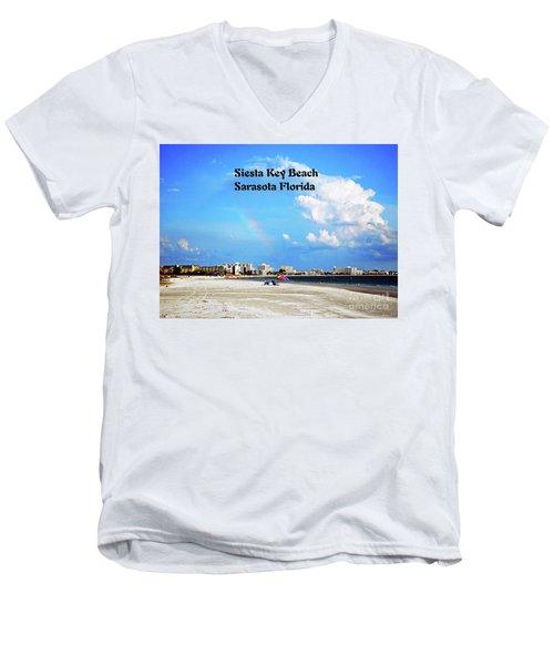 Siesta Beach Men's V-Neck T-Shirt
