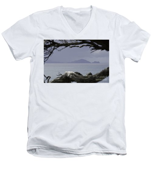 Somewhere Around Whangarei, New Zealand Men's V-Neck T-Shirt