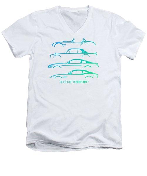Special Selection Silhouettehistory Men's V-Neck T-Shirt