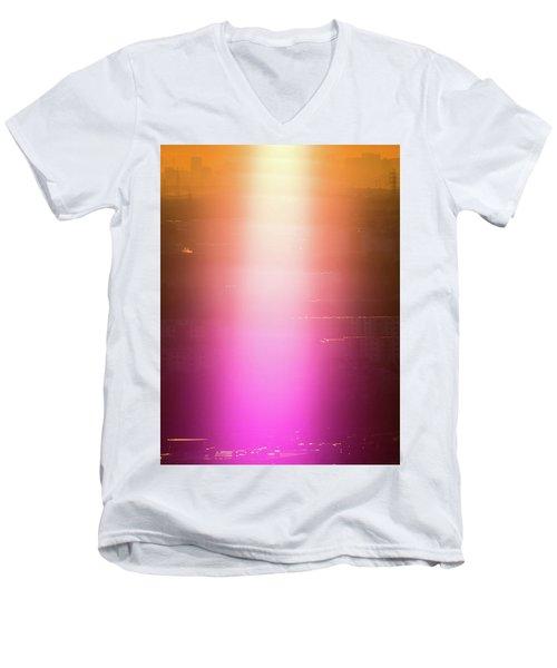 Spiritual Light Men's V-Neck T-Shirt