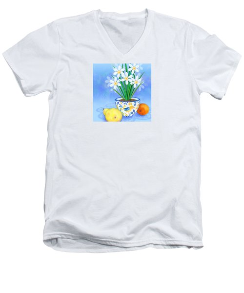Spring's Promise Men's V-Neck T-Shirt