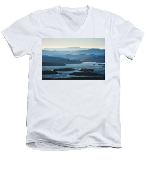 Squam Lake Men's V-Neck T-Shirt
