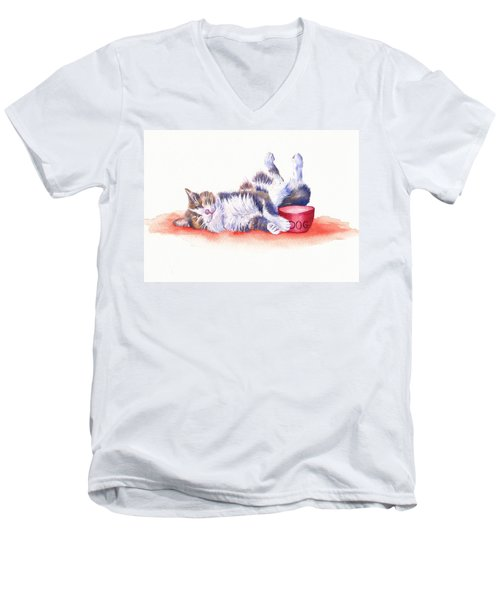 Stolen Lunch Men's V-Neck T-Shirt