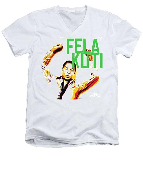 The First Black President Men's V-Neck T-Shirt