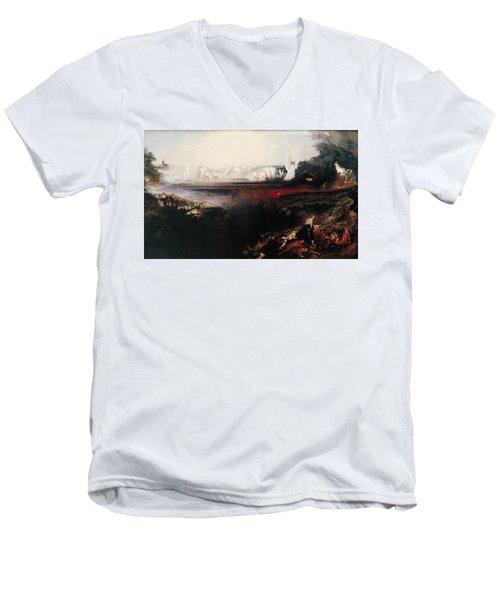 The Last Judgement Men's V-Neck T-Shirt