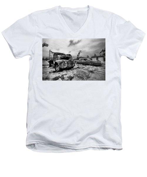 The Last Tow Men's V-Neck T-Shirt