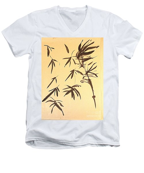 Thinking Of Wind 3 Men's V-Neck T-Shirt by Nancy Kane Chapman