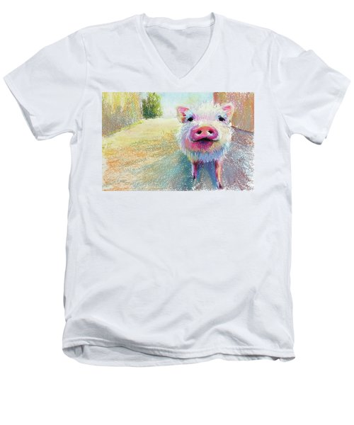 This Little Piggy Men's V-Neck T-Shirt