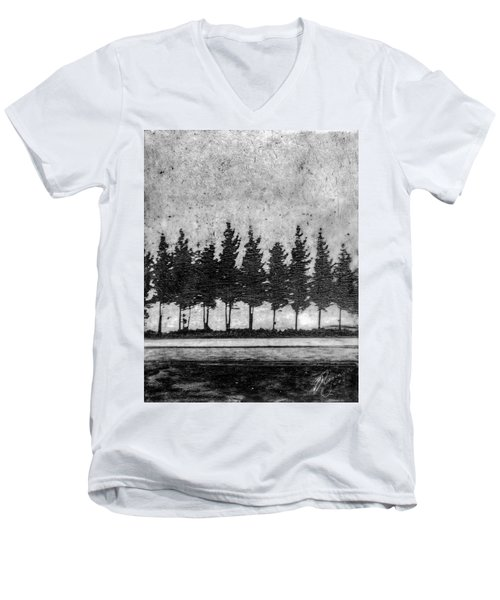 Tree Road Men's V-Neck T-Shirt