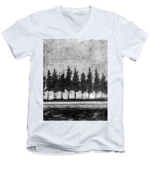 Tree Road Men's V-Neck T-Shirt