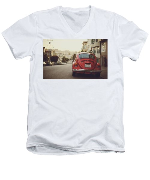Volkswagen Men's V-Neck T-Shirt