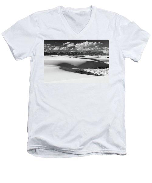 White Sands Afternoon Men's V-Neck T-Shirt