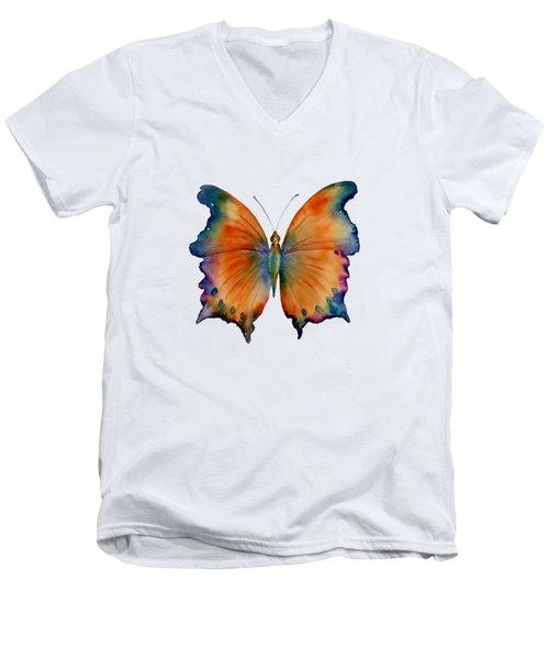 1 Wizard Butterfly Men's V-Neck T-Shirt by Amy Kirkpatrick