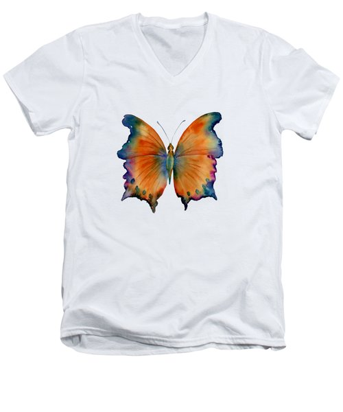 1 Wizard Butterfly Men's V-Neck T-Shirt