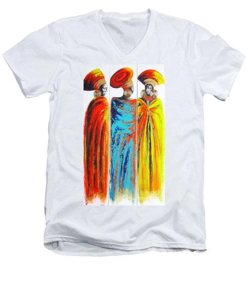 Zulu Ladies 2 Men's V-Neck T-Shirt