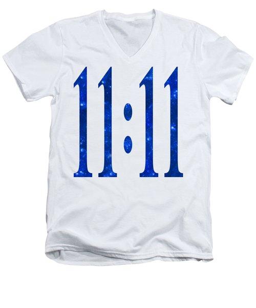11 11 Men's V-Neck T-Shirt