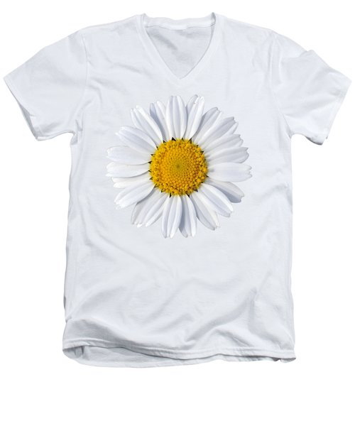 Men's V-Neck T-Shirt featuring the photograph Daisy by George Atsametakis