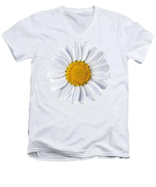 Daisy Men's V-Neck T-Shirt by George Atsametakis