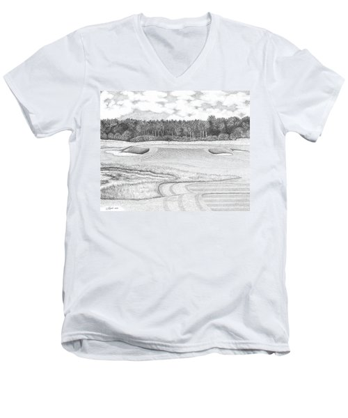 11th Hole - Trump National Golf Club Men's V-Neck T-Shirt