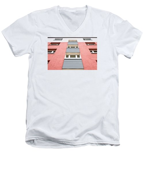 Apartment Building Men's V-Neck T-Shirt