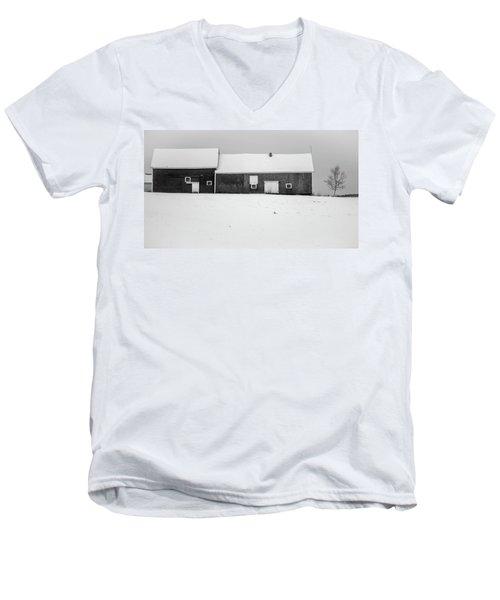 Down East Maine  Men's V-Neck T-Shirt